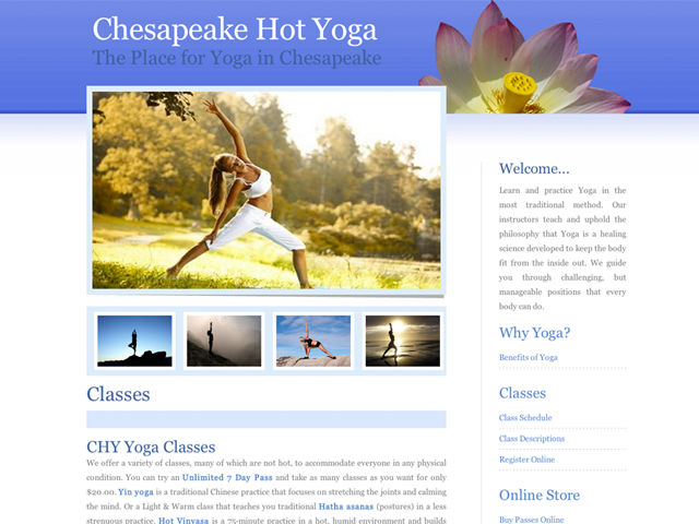 Chesapeake Hot Yoga